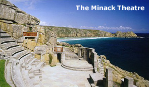 Cornish Cottages: Minack Theatre