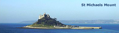 Cornish Cottages: St Michaels Mount